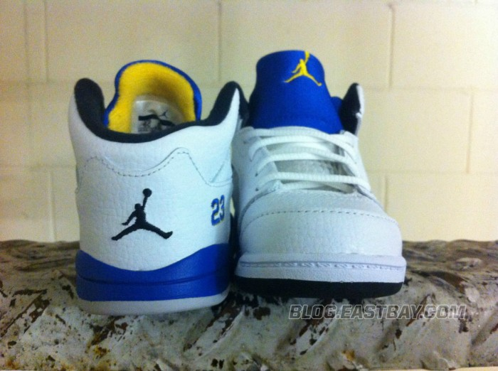 Air Jordan 5 Retro Toddler - 'Laney' (3)