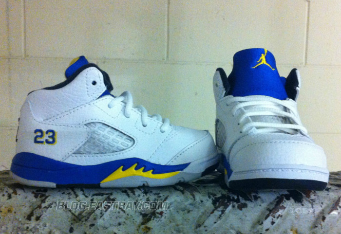 Air Jordan 5 Retro Toddler - 'Laney' (4)
