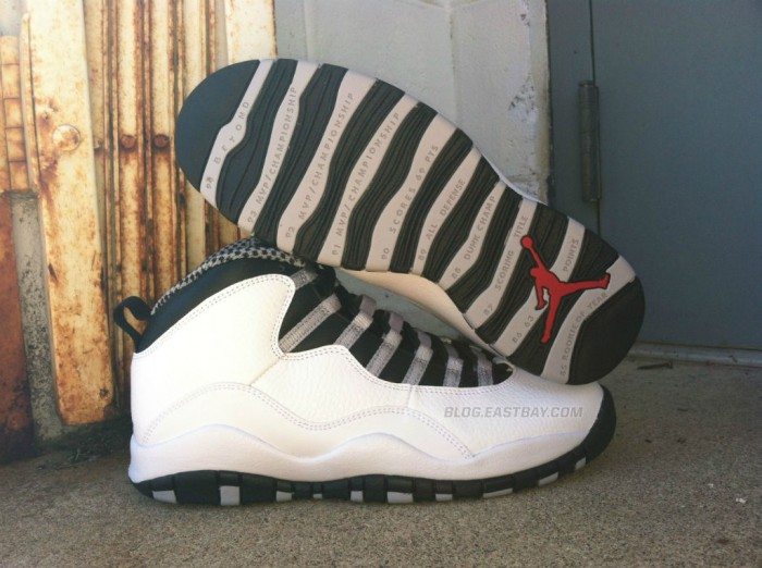 competitive price 0ebf5 fc96d Air Jordan 10 Retro - 'Steel' | Eastbay Blog : Eastbay Blog