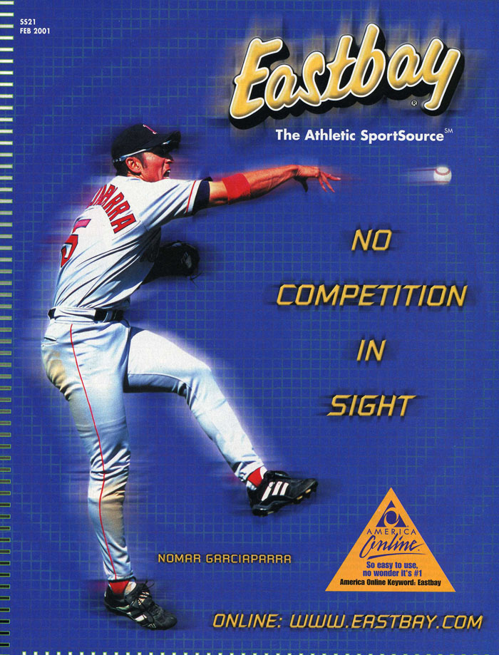 Eastbay Memory Lane // Nomar Garciaparra Cover - February 2001