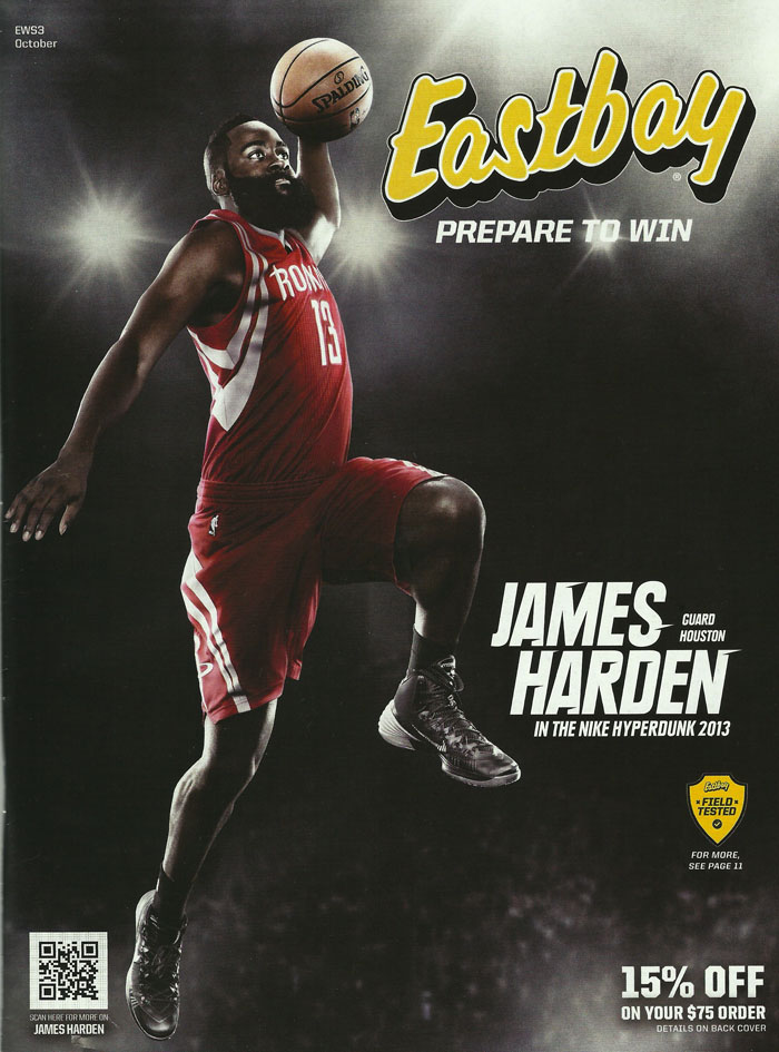 Eastbay October 2013 // James Harden