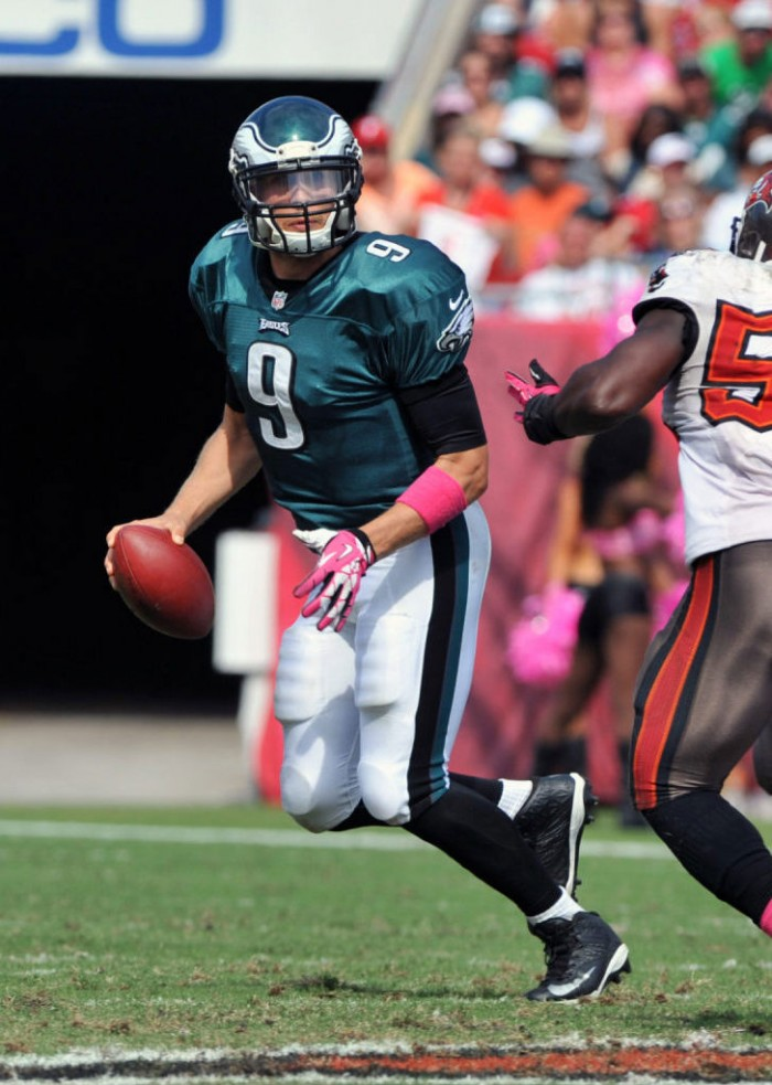 Nick Foles wearing Nike Zoom Code Elite
