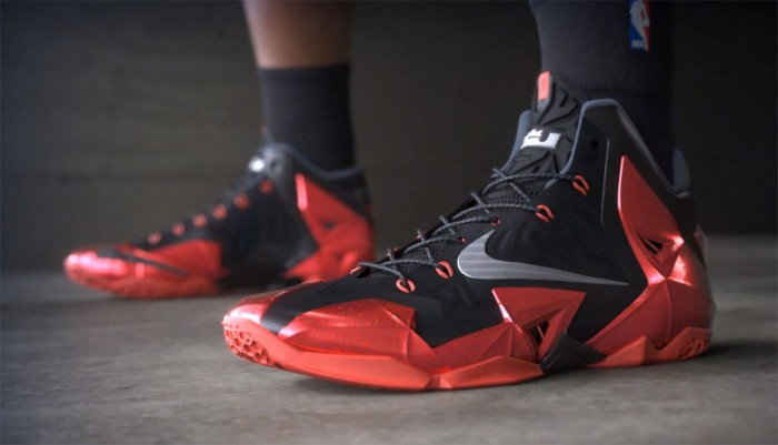Nike LeBron 11 XI 'Away' // Video