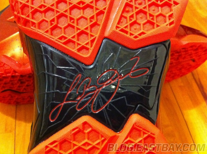 Nike LeBron 11 XI Black/Red Miami Heat Away (4)
