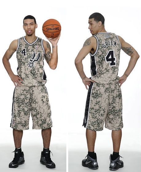 San Antonio Spurs Unveil New Military-Inspired Uniforms (1)