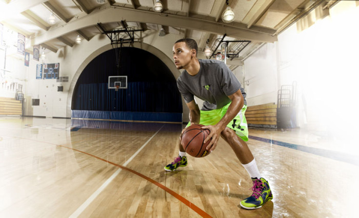 Stephen Curry Joins Under Armour Basketball