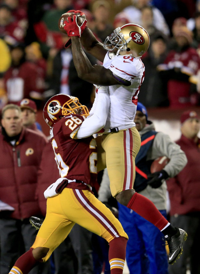 Anquan Boldin wearing Nike Super Speed D