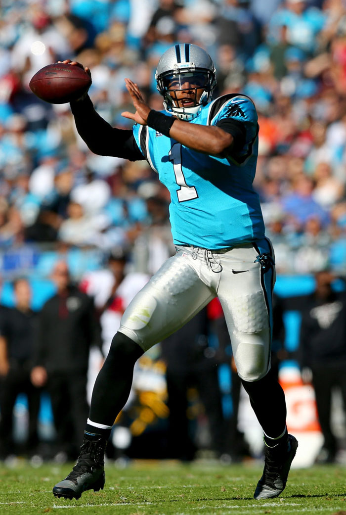 release date: 0dd15 03014 Nike Lunar Superbad Pro D Chiefs. Cam Newton wearing Under Armour Highlight  ...