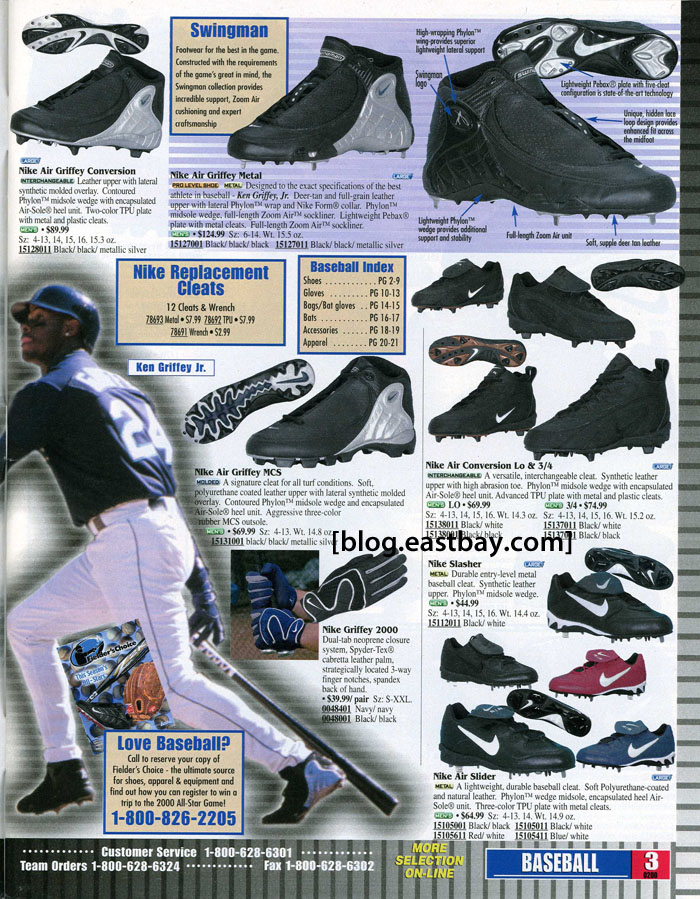 Eastbay Memory Lane // Ken Griffey Jr. for Nike Baseball Spring 2000