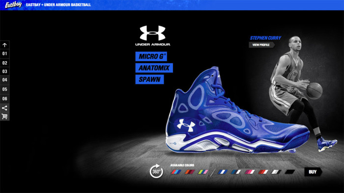 Eastbay x Under Armour Basketball Facebook App (1)