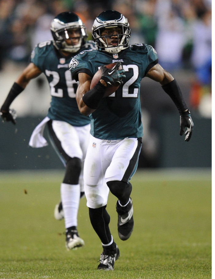 Brandon Boykin wearing Nike CJ81 Elite TD