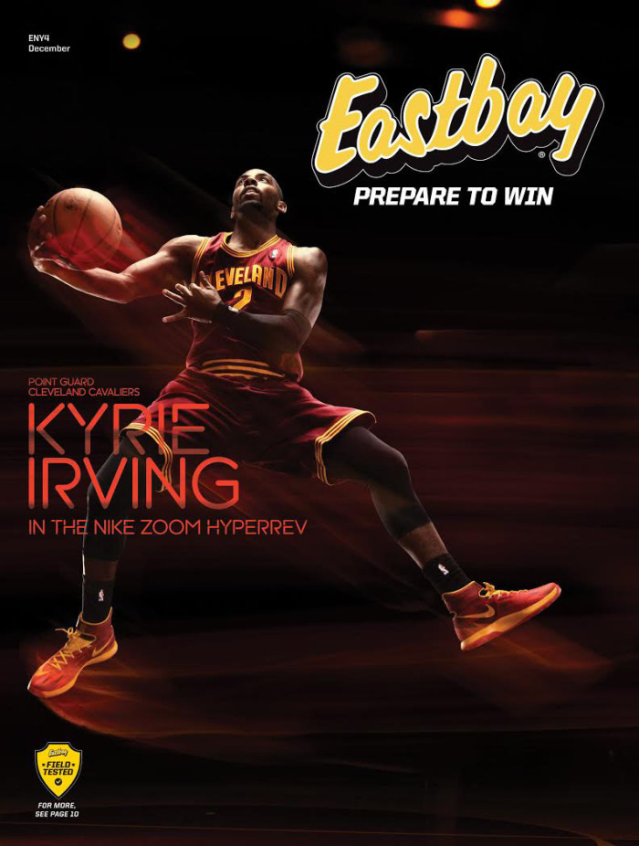 Eastbay December 2013 // Kyrie Irving & the Nike Zoom HyperRev