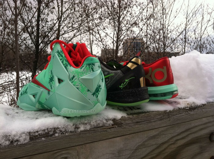 Nike Basketball Christmas Pack // LeBron 11, Kobe 8 & KD 6 (2)