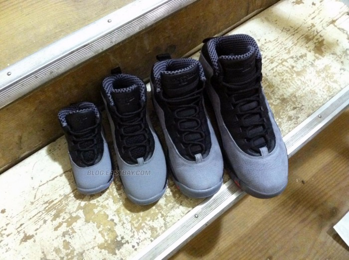 Family Affair: Air Jordan 10 Retro Cool Grey (7)