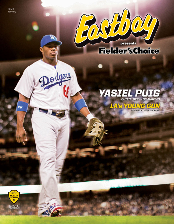 Yasiel Puig Covers Fielder's Choice Issue of Eastbay