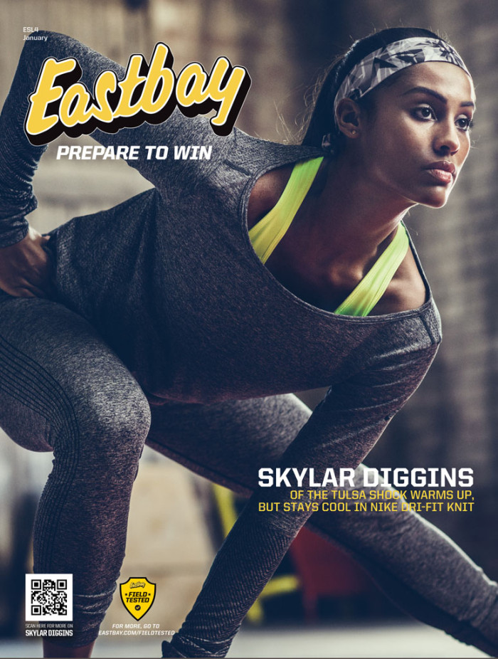Skylar Diggins Covers January Issue of Eastbay (1)