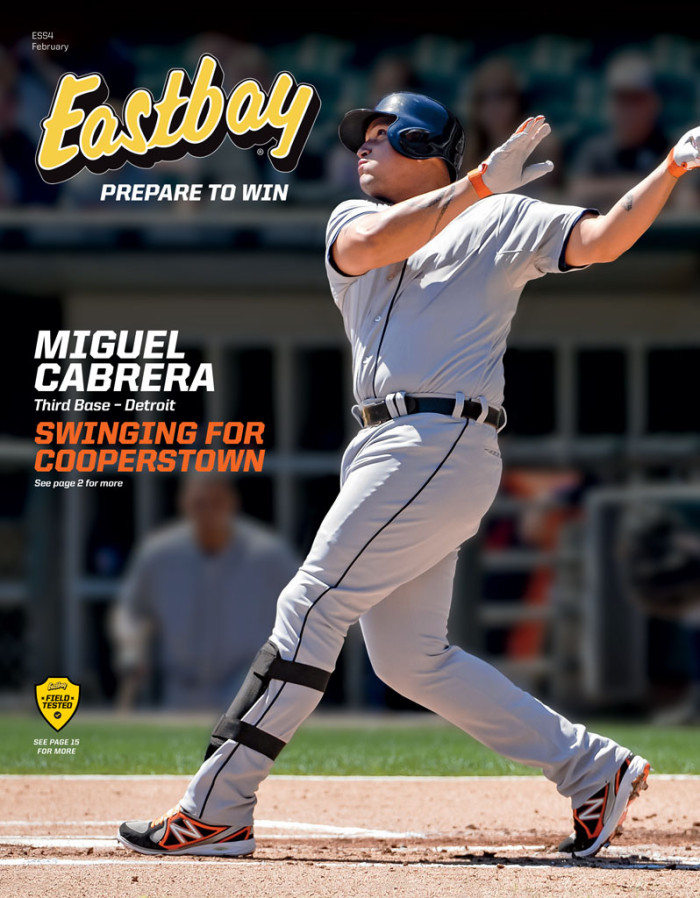 Miguel Cabrera Covers February Issue of Eastbay