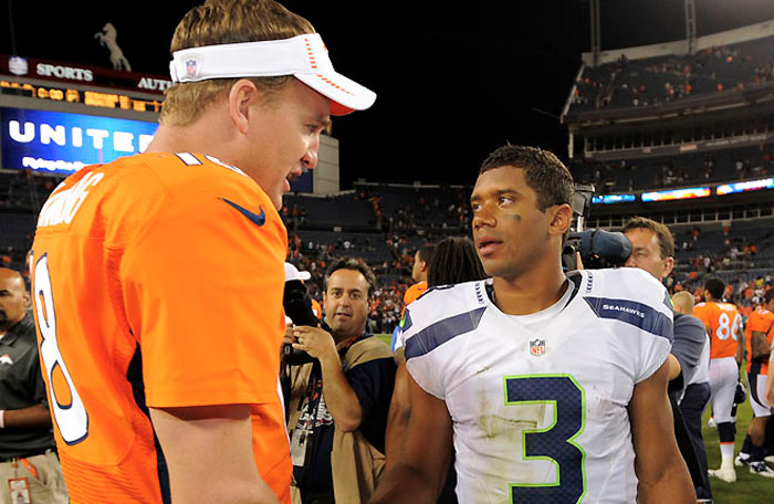 NFL Watch // Seahawks, Broncos Win at Home, Move on to Super Bowl