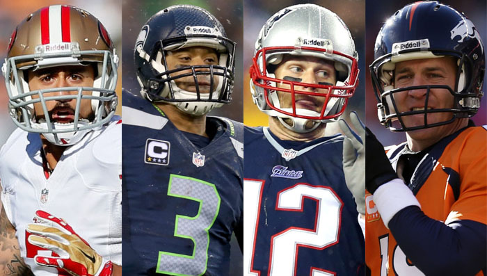NFL Watch // Seahawks, Niners, Broncos and Patriots Advance