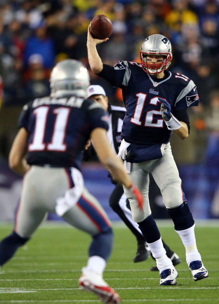 Tom Brady wearing Under Armour Turf Shoes