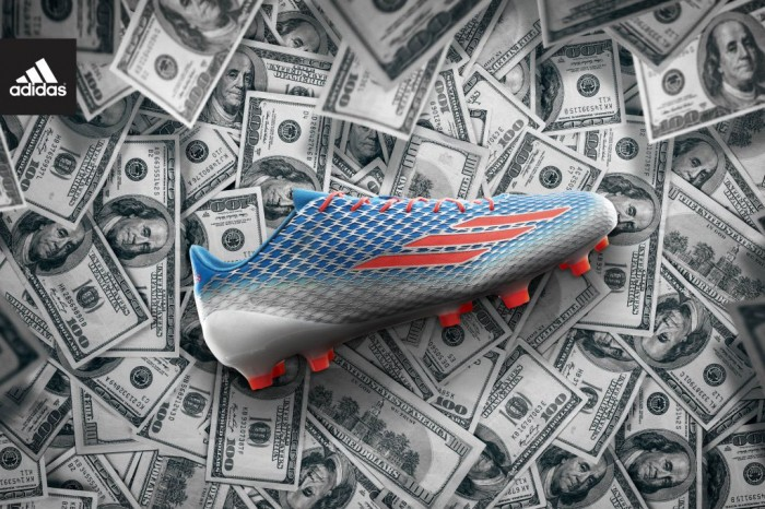 adidas 4.6 Ounce adizero 5-Star 40 Cleat for the NFL Combine