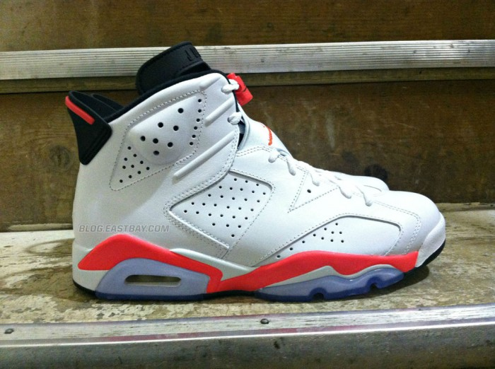 Air Jordan 6 Retro - White/Infrared (2)
