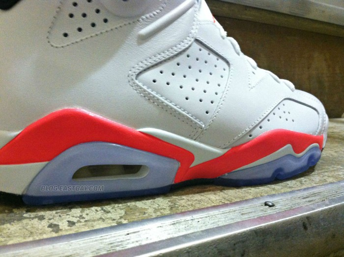 Air Jordan 6 Retro - White/Infrared (3)