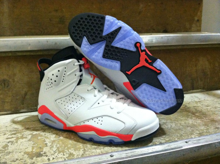 Air Jordan 6 Retro - White/Infrared (4)