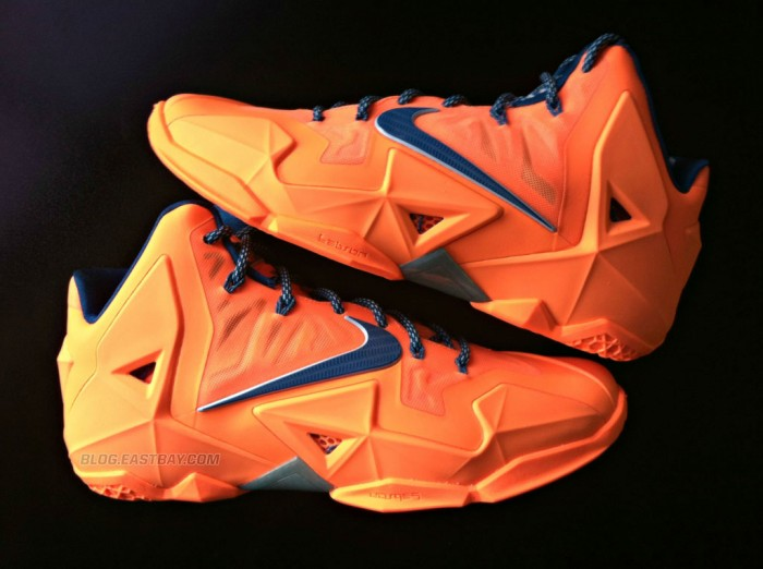Nike LeBron 11 'Atomic Orange' (1)