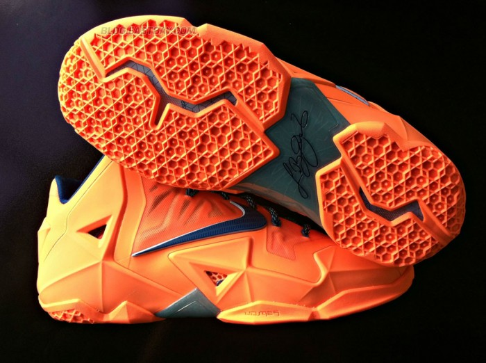 Nike LeBron 11 'Atomic Orange' (7)