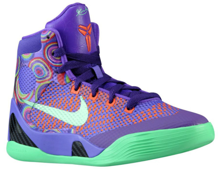 sports shoes 70009 f06af Nike Kobe 9 Elite GS – Purple Venom Vivid Pink-Turf Orange