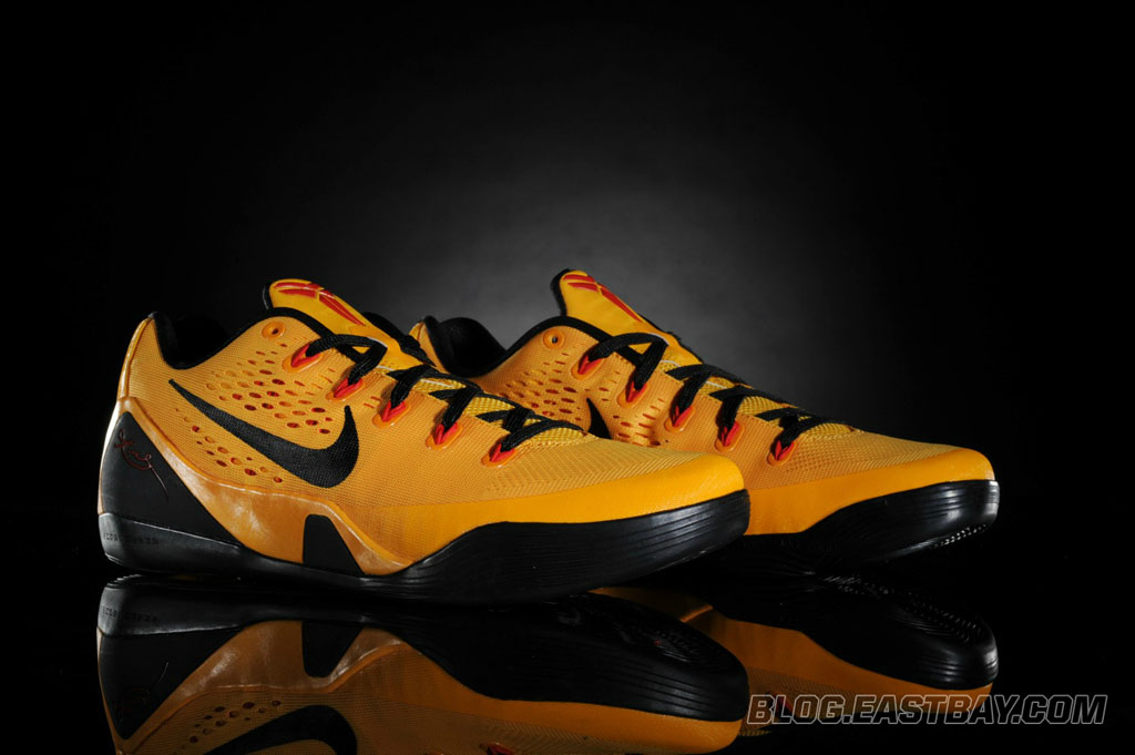 df0e0ed7243 Nike Kobe 9 EM - University Gold Black-Laser Crimson (1)