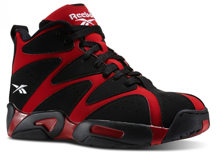 Reebok Kamikaze 1 - Flash Red/Black