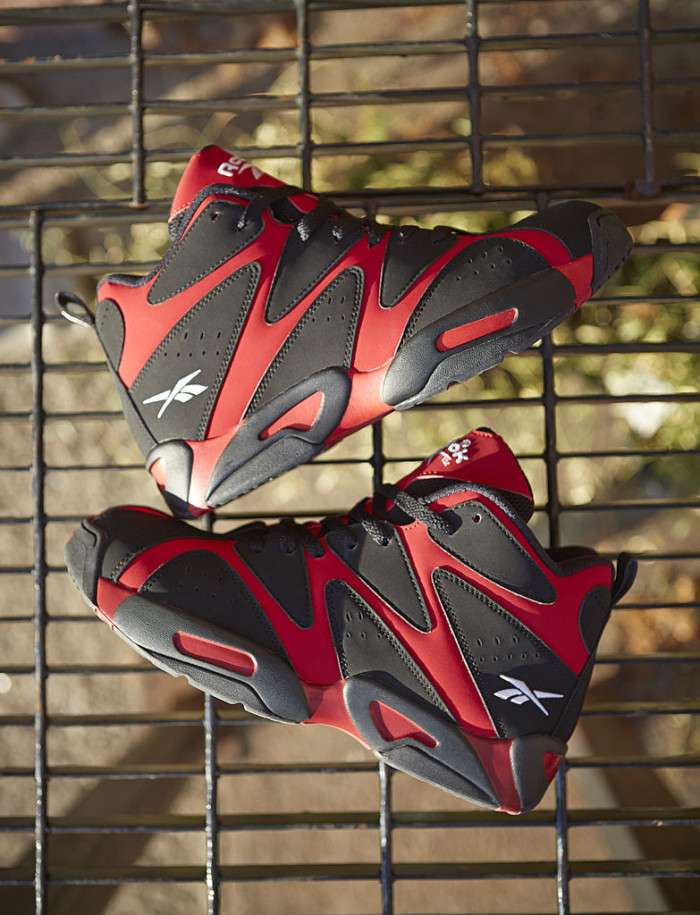 Reebok Kamikaze 1 - Flash Red/Black (8)