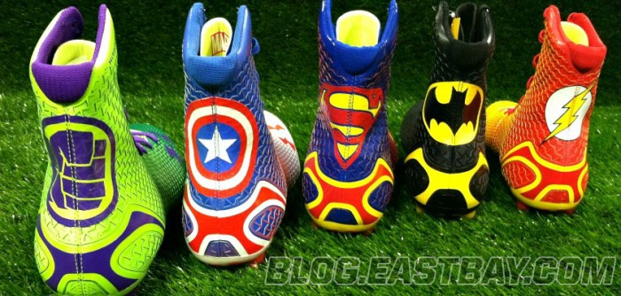 Under Armour's Superhero-Inspired Alter Ego Highlight Cleats (1)