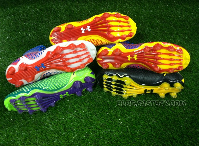 Under Armour's Superhero-Inspired Alter Ego Highlight Cleats (6)