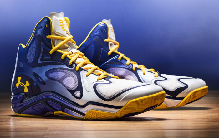 stephen curry�s under armour anatomix spawn �the bay� pe