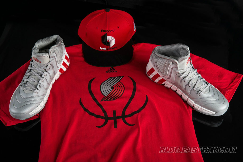 eab36556c2ca Damian Lillard Laces Up adidas Crazy Quick 2 for Playoffs