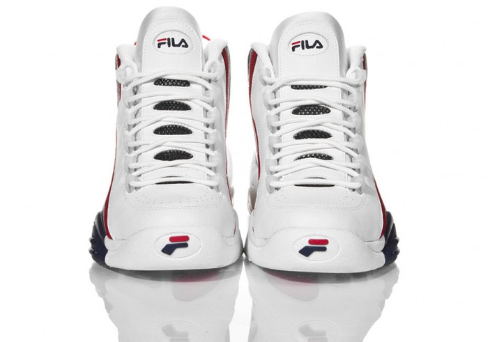 FILA Stack 2 White/Navy/Red (2)