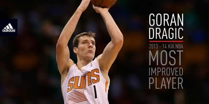 Goran Dragic Named NBA Most Improved Player (1)