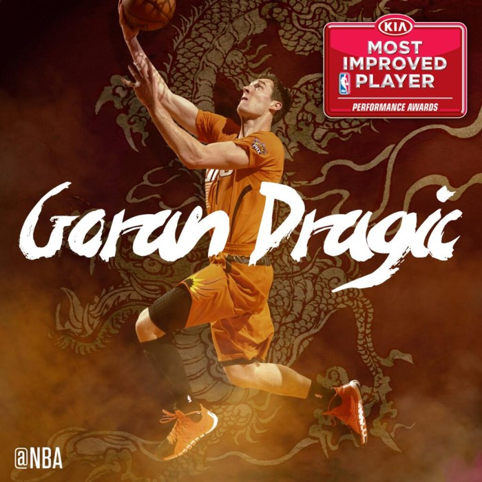 Goran Dragic Named NBA Most Improved Player (2)