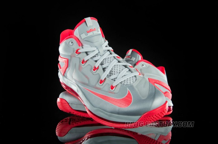 Nike LeBron 11 Low 'Laser Crimson' (2)