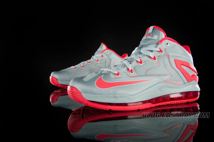 Nike LeBron 11 Low 'Laser Crimson' (3)