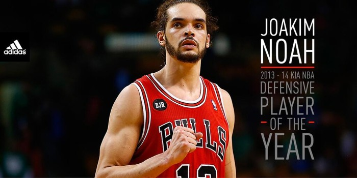 Joakim Noah Named NBA Defensive Player of the Year