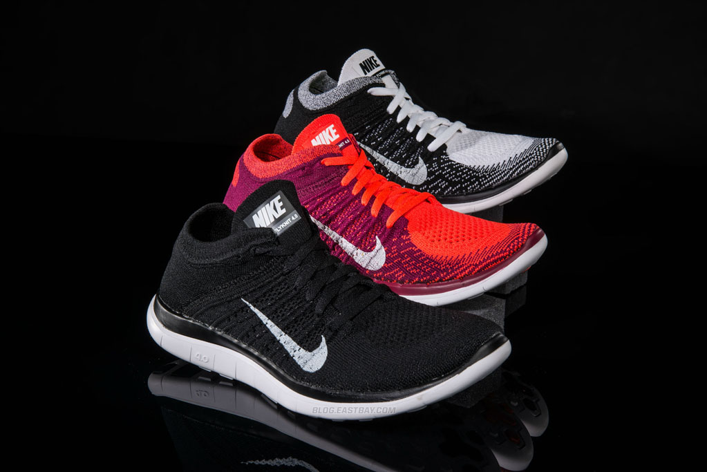 introducing nike free 4 0 flyknit eastbay blog. Black Bedroom Furniture Sets. Home Design Ideas