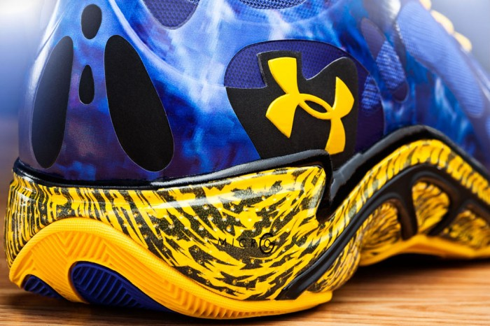 Stephen Curry's Under Armour Anatomix Spawn 'Blue Splash' PE (2)