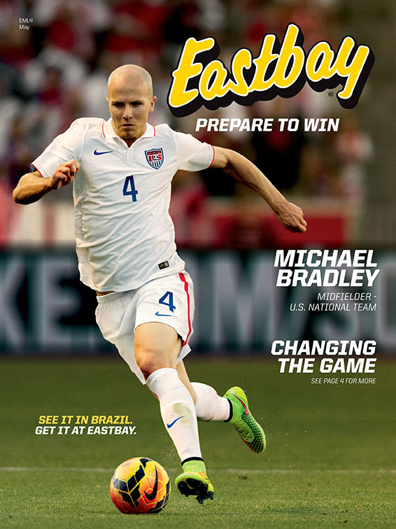 Michael Bradley Covers Eastbay Catalog