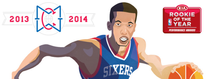 Michael Carter-Williams Named NBA Rookie of the Year (2)