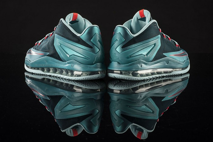 hot sale online 3d375 d7ed1 Nike LeBron 11 Low  Turbo Green  (4)
