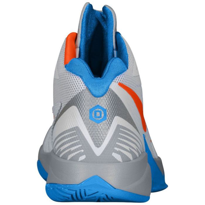 Nike Zoom I Get Buckets White/Photo Blue-Wolf Grey-Team Orange OKC (2)